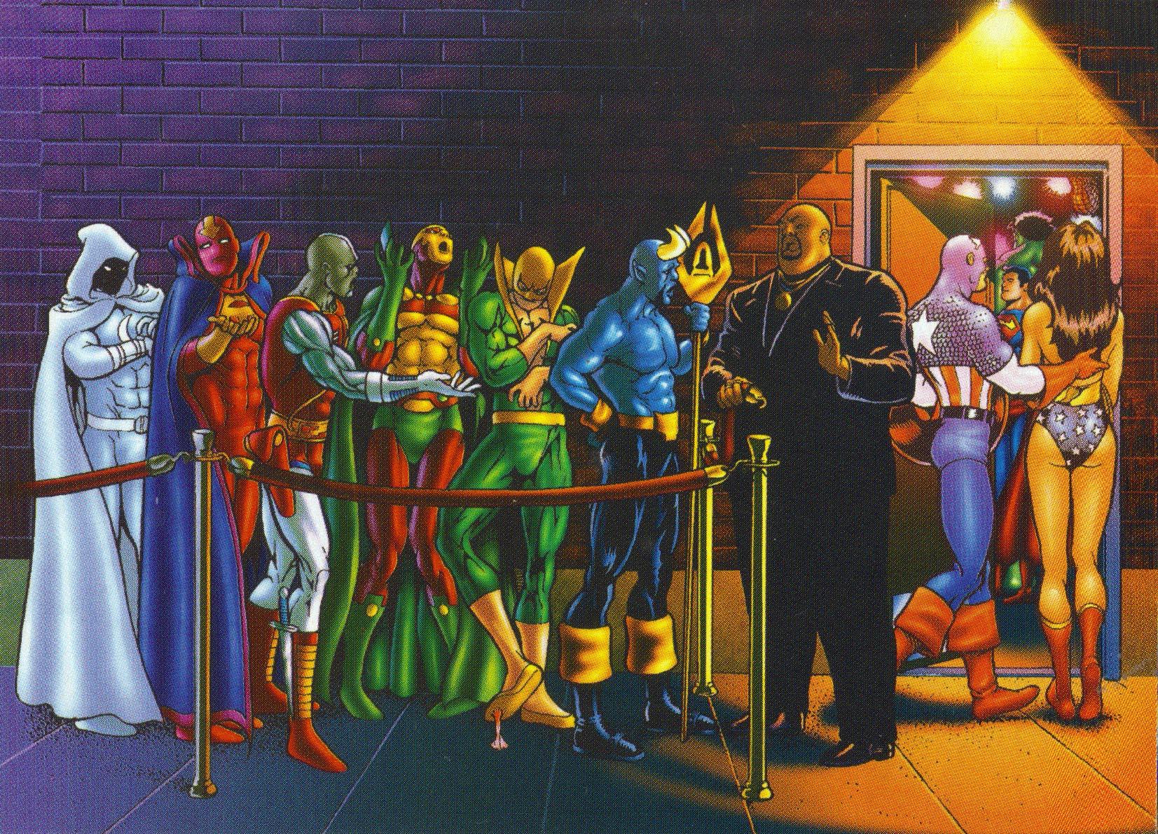 superhero nightclub pic