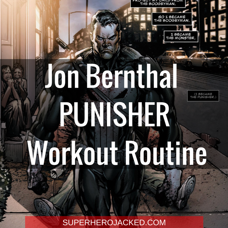 Jon Bernthal Punisher Workout