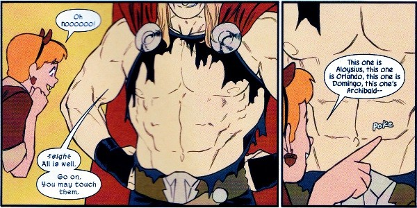 thor's abs