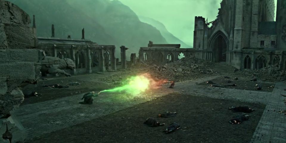 Harry Potter Deathly Hallows Battle