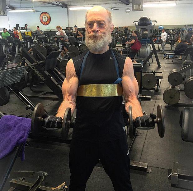 Jk Simmons Workout