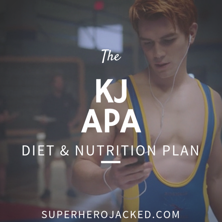 KJ Apa Workout Routine and Diet Plan : Train to Shredded