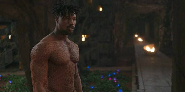 Michael B. Jordan Black Panther Workout 1