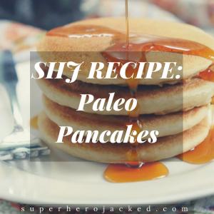 SHJ Paleo Pancakes