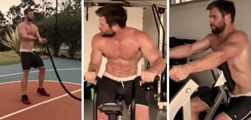 Chris Hemsworth Superhero Workout