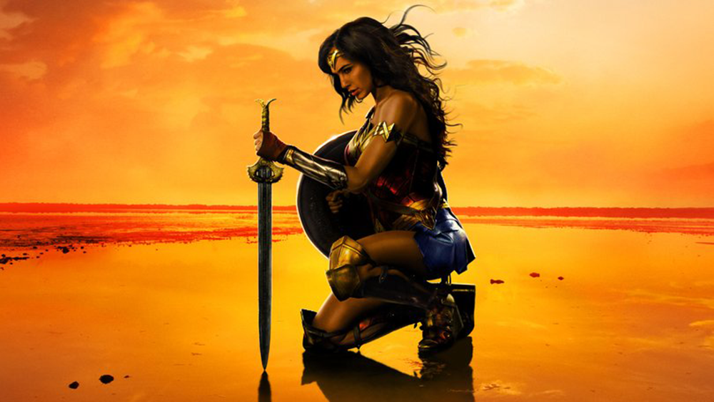 Superhero Wonder Woman