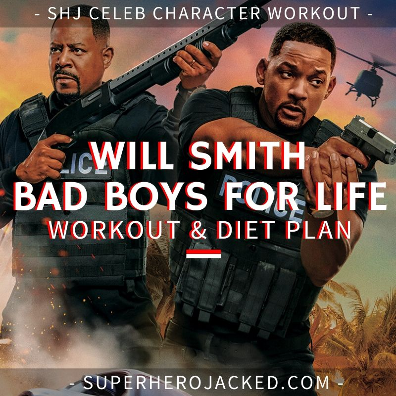 Will Smith Bad Boys for Life Workout Routine and Diet