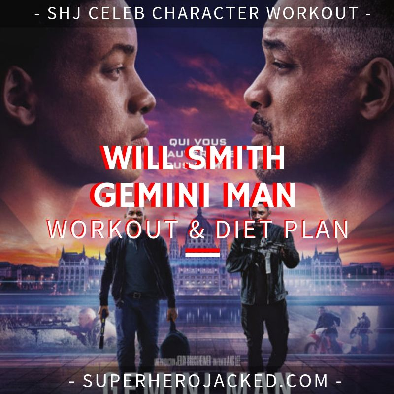 Will Smith Gemini Man Workout and Diet