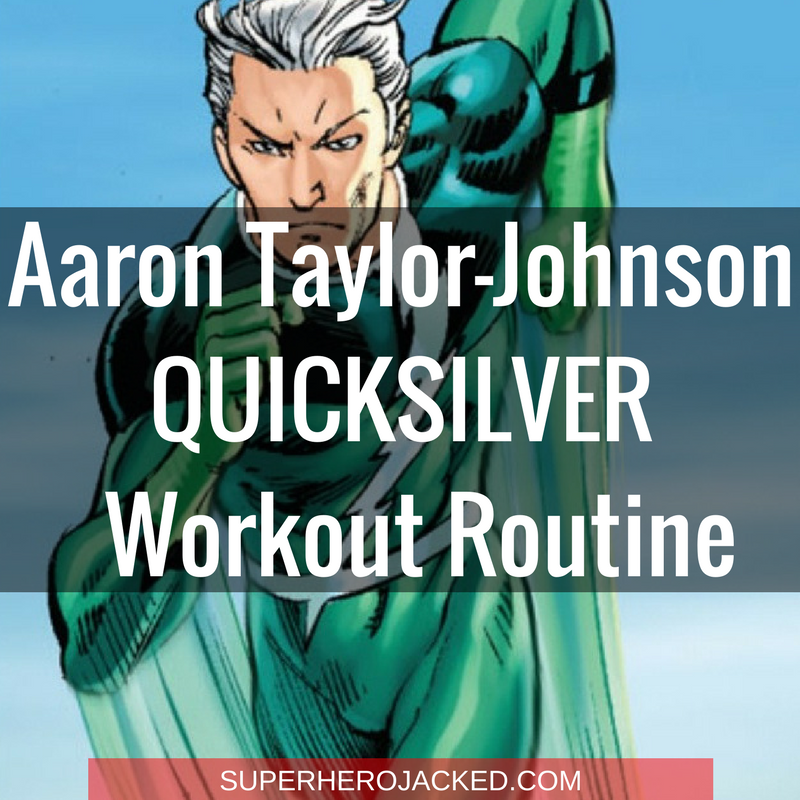 aaron taylor-johnson quicksilver