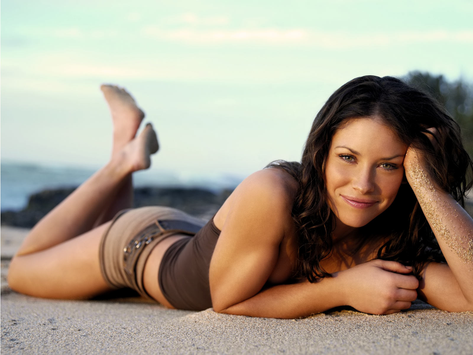 evangeline lilly workout 3
