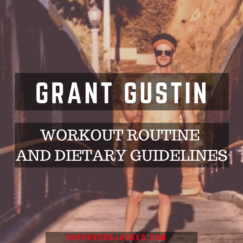 Grant Gustin Workout