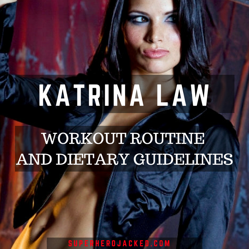 katrina law workout routine and diet