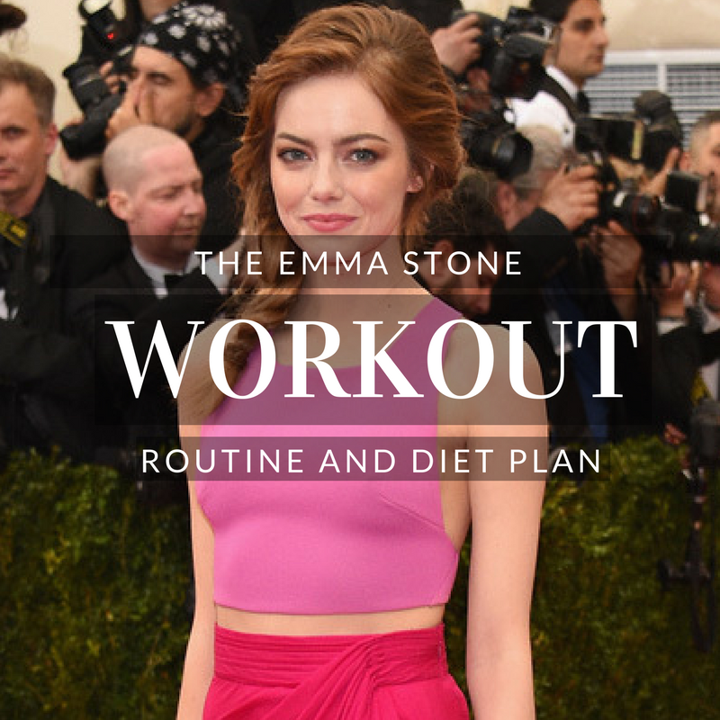 Emma Stone Workout