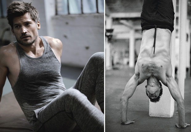 Nikolaj Coster-Waldau Workout