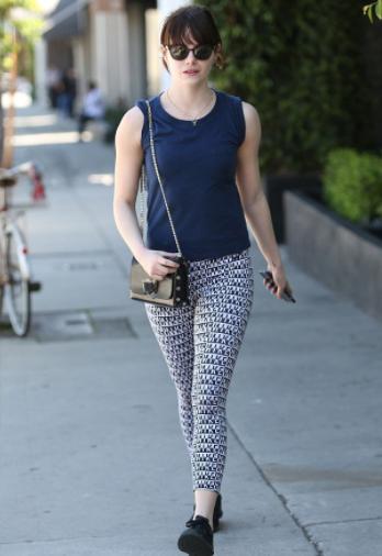 Emma Stone Workout 1