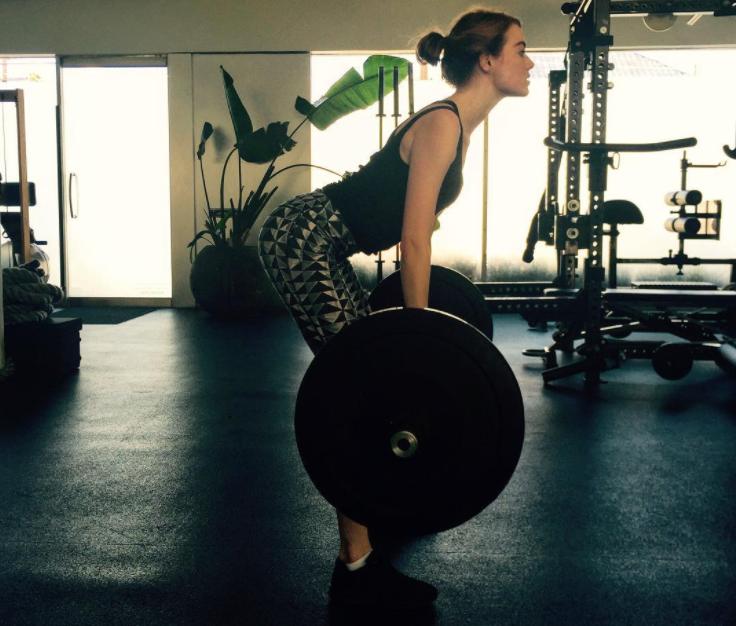 Emma Stone Workout 3