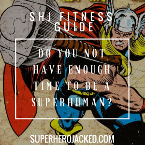 Do you really not have enough time to be a SuperHuman?