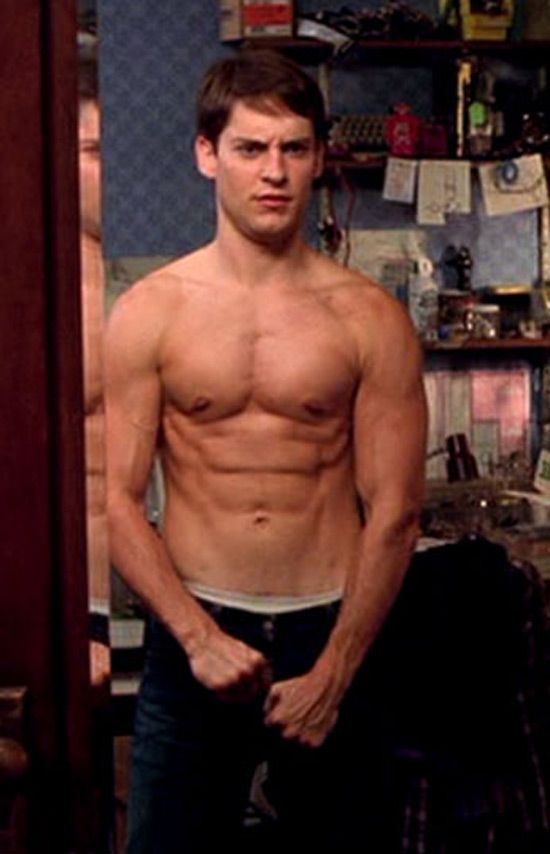 tobey maguire workout
