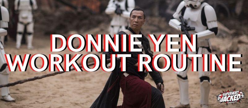 Donnie Yen Workout