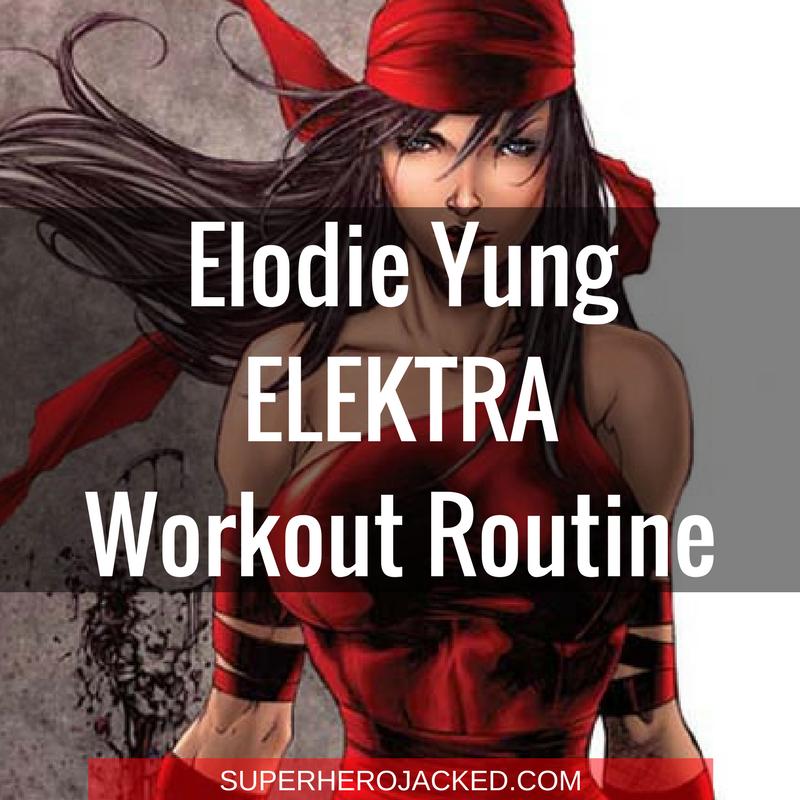 Elodie Yung Elektra Workout