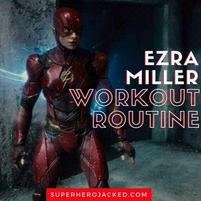 Ezra Miller Workout