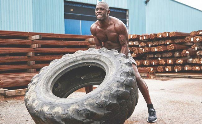 Idris Elba Workout 2