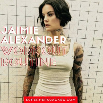 Jaimie Alexander Workout