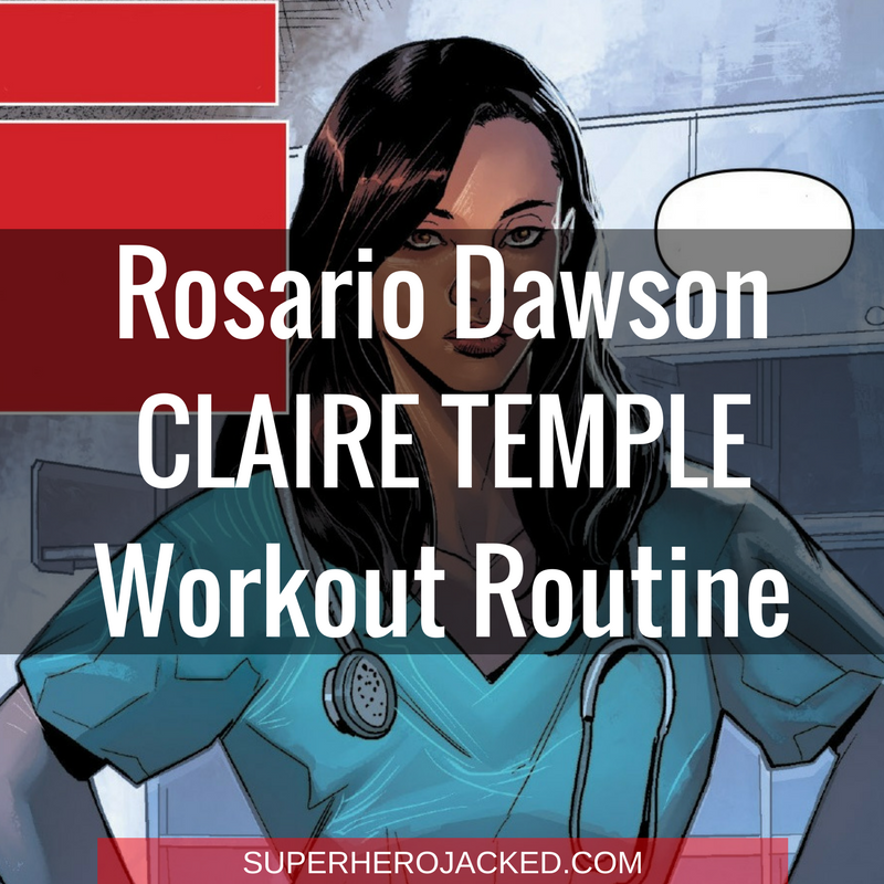 Rosario Dawson Claire Temple Workout Routine