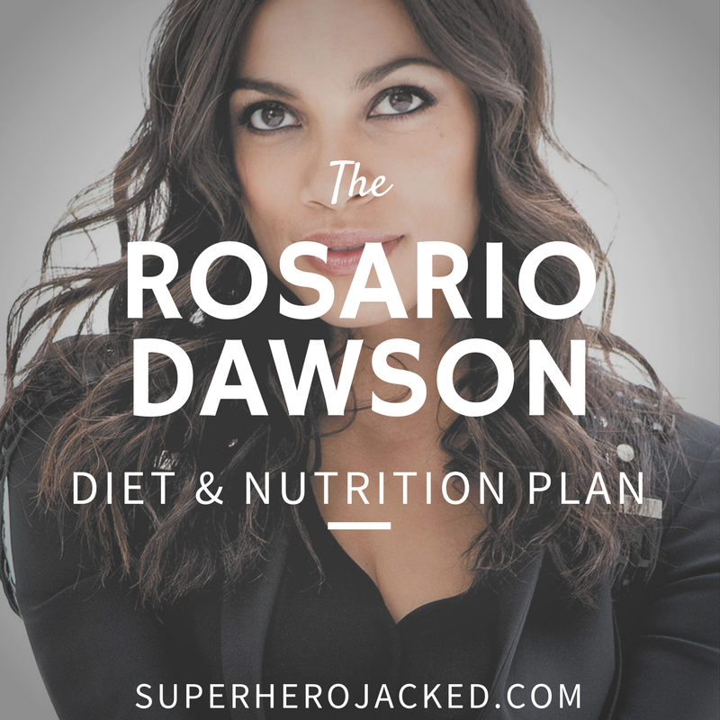 Rosario Dawson Diet and Nutrition