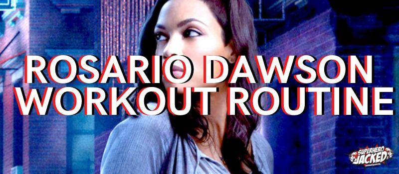 Rosario Dawson Workout 2