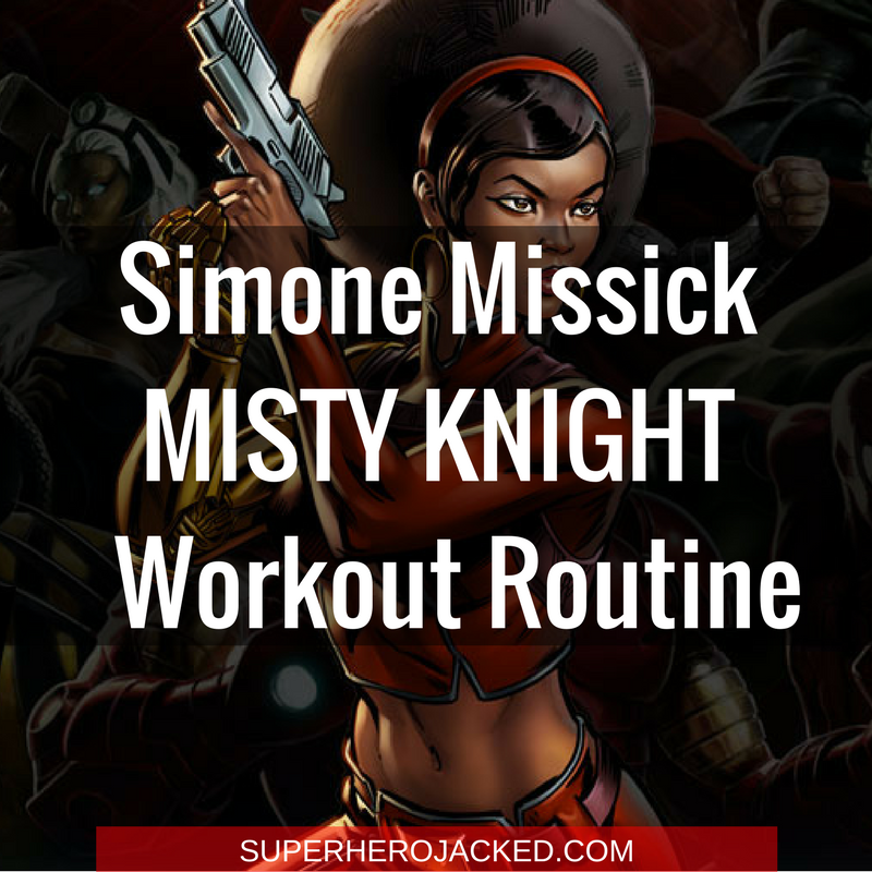 Simone Missick Misty Knight Workout Routine