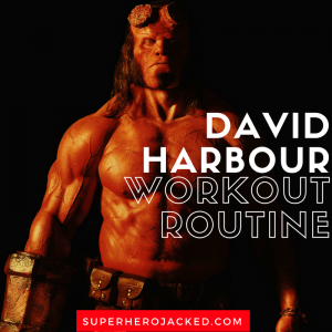 David Harbour Workout Routine and Diet Plan: How he's Becoming our New Hellboy!