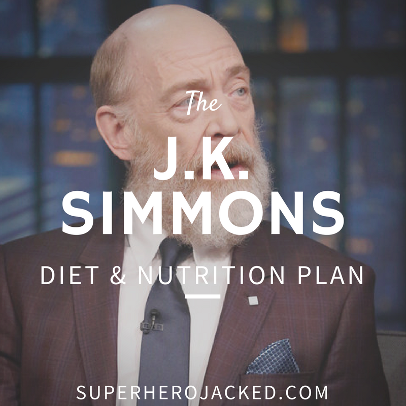 J.K. Simmons Diet and Nutrition