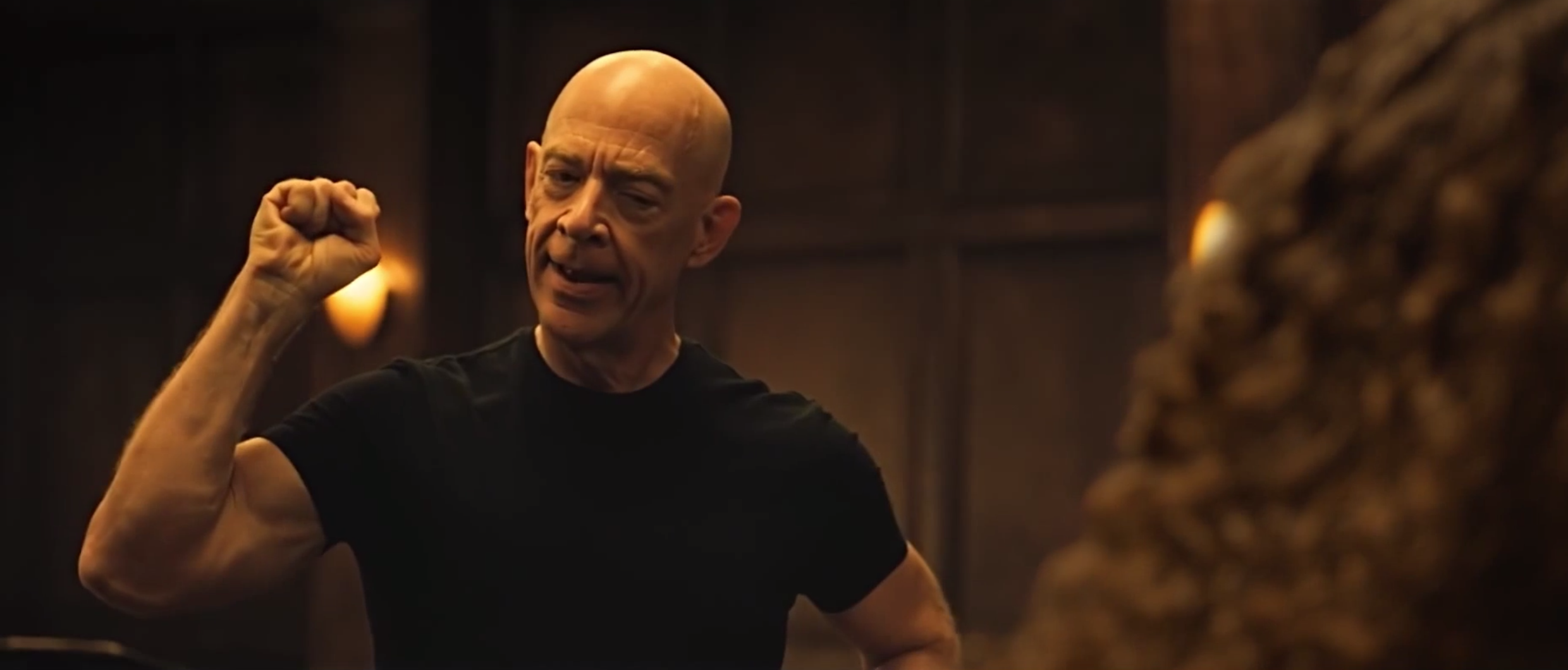 J.K. Simmons Workout 3
