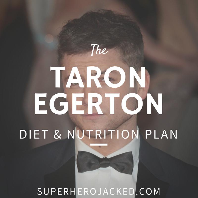 Taron Egerton Diet and Nutrition