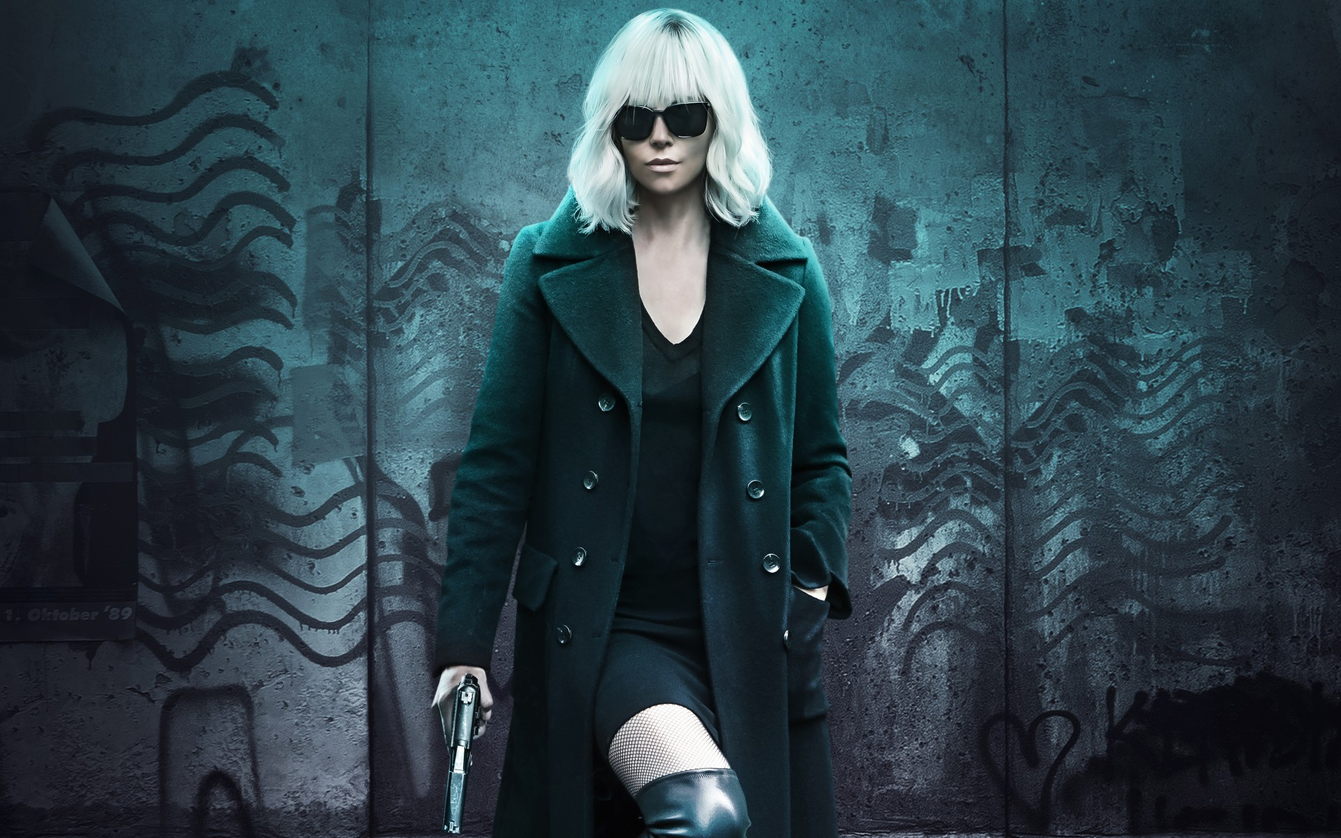 Charlize Theron Workout Atomic Blonde