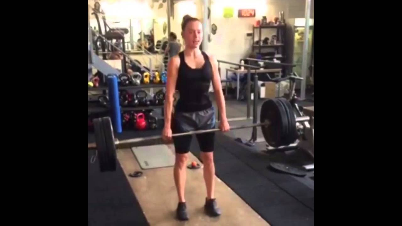Daisy Ridley Deadlift Pyramid Training