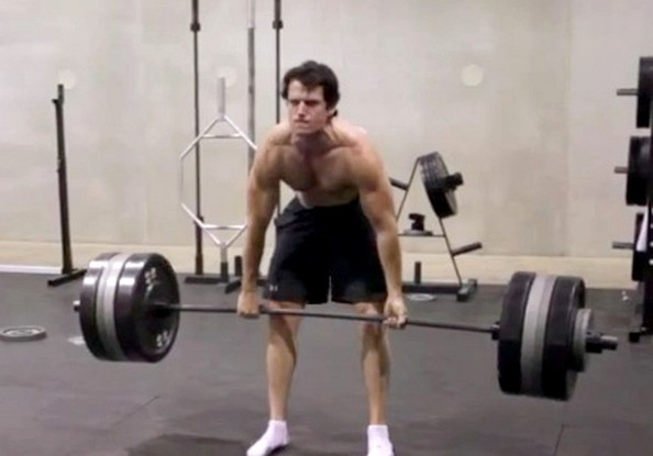 Henry Cavill Deadlift