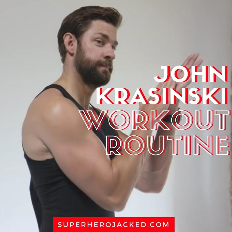John Krasinski Workout Routine