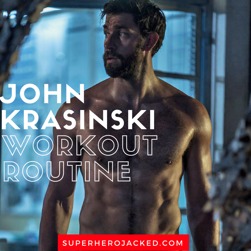 John Krasinski Workout Routine and Diet Plan: How he went