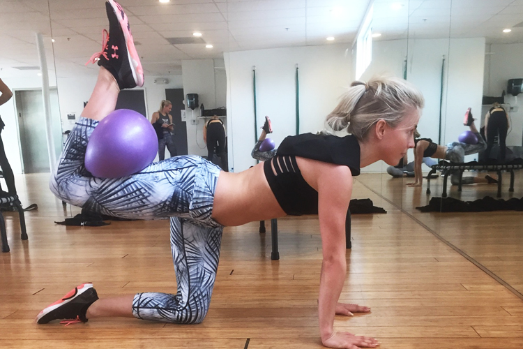 Julianne Hough Workout 3