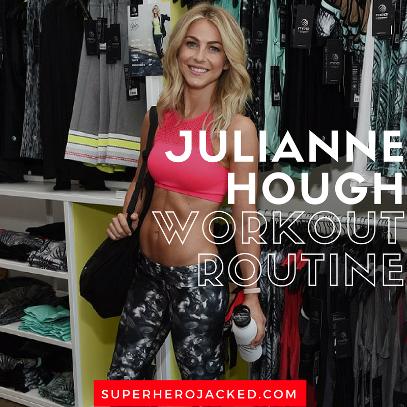 Julianne Hough Workout Routine