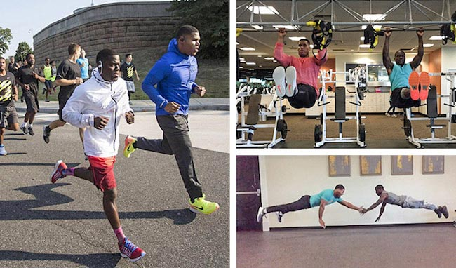 Kevin Hart workout 1