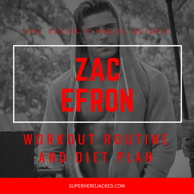 Zac Efron Workout and Diet