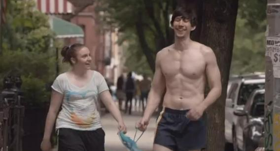 Adam Driver Workout 3