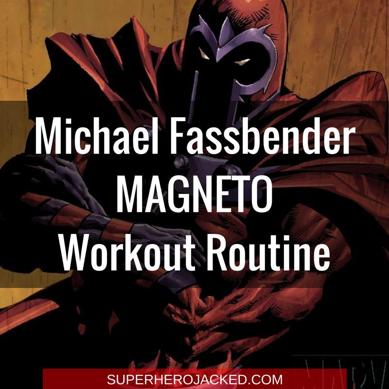 Michael Fassbender Magneto Workout Routine