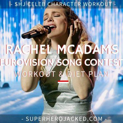 Rachel McAdams Eurovision Song Contest Workout