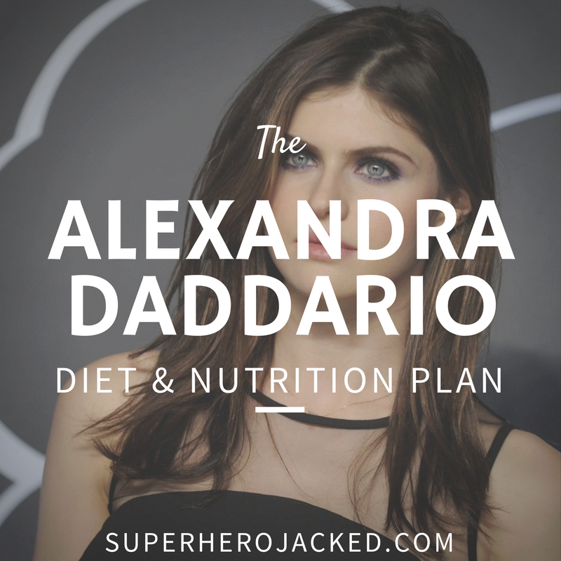 Alexandra Daddario Diet and Nutrition