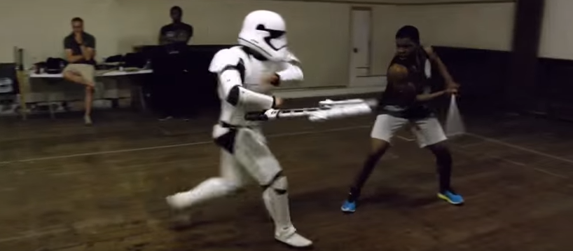 Boyega Star Wars Workout Sword Fighting