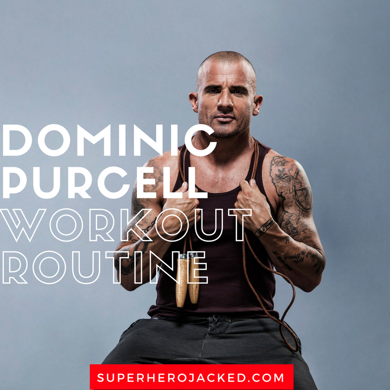 Dominic Purcell Workout Routine